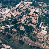 Image of Aerial Views - Aerial Views of the National Institutes of Health buildings, grounds and area