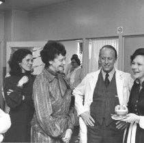 Image of Events at NIH - First Lady Rosalyn and Mrs. James Callaghan visit the NIH Clinical Center