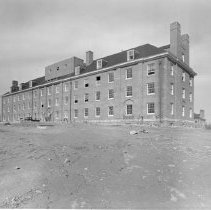 Image of Campus Buildings - Building 5 construction progress April 1940