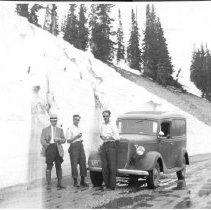 Image of Rocky Mountain Laboratory Photographs - Field work in Laramie, Wyoming