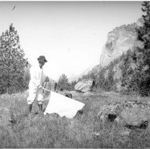 Image of Fieldwork with ticks in Montana