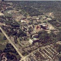 Image of Aerial Views - Aerial photo of NIH campus