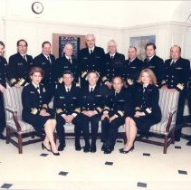 Image of United States Public Health Service - P.H.S. Navy Flag officers assigned to NIH