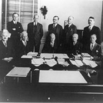 Image of NIH Directors - NIH Director Lewis R. Thompson and Division Chiefs