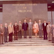 Image of National Library of Medicine - National Library of Medicine staff