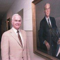 Image of NIH Portrait Unveilings - NIH Director Robert Q. Marston portrait unveiling