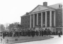 Image of Office of History Photograph Collection - President Roosevelt dedicates the National Institute of Health Bethesda campus
