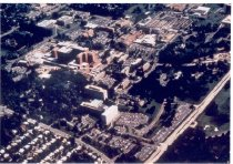 Image of Color aerial view of the NIH ca 1990s