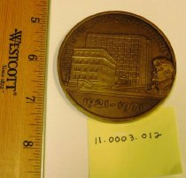 Image of Institutul Dr. I. Cantacuzino 50th Anniversary Medallion reverse