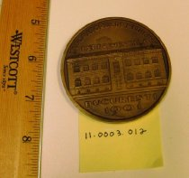 Image of Institutul Dr. I. Cantacuzino 50th Anniversary Medallion obverse