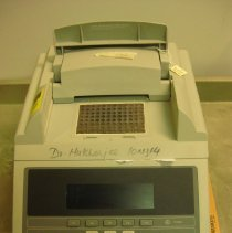 Image of Applied Biosystems GeneAmp PCR System 9700 open