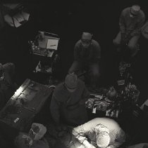 Image of Jerry Hecht Digital Collection - Overhead view of surgery