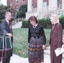 Image of NIH Directors - Visit to the NIH campus by Vice-President's wife Marilyn Quayle