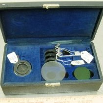 Image of Bausch & Lomb Optical Co. Lenses and Filters Set
