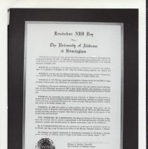 Image of University of Alabama at Birmingham NIH Day Resolution