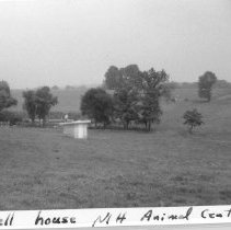 Image of William Gay Photograph Collection - Well house at the NIH Animal Center