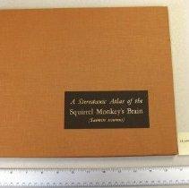 "Image of ""A Stereotaxic Atlas of the Squirrel Monkey's Brain (Saimiri sciureus)"""