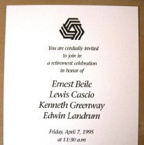 Image of 13.0021.075 - Invitation