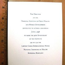 Image of Invitation: 35th Anniversary of NICHD