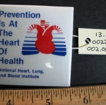 Image of Prevention is at the Heart of Health Pin