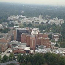 Image of Aerial Views - Aerial view of NIH campus: CC and Naval Medical 2014