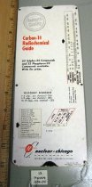 Image of Nuclear-Chicago Corp. Carbon-14 Radiochemcial Guide Slide Chart front