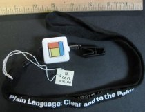 Image of 13.0019.036 - Celebrating Plain Language Lanyard