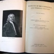 """Image of """"Elements of the Differential and Integral Calculus"""" William Anthony Granvi"""