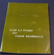 Image of LISP (List Processing) Programming Language .05 cover