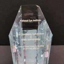 Image of XXVI International Congress of Ophthalmology Award