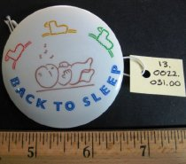 Image of Back to Sleep Pin