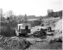 Image of Photograph - November 1938 Building 6 construction progress