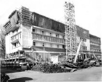 Image of Photograph - January 1946 Building 7 construction progress