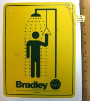 Image of 14.0040.007 - Bradley Corp. Emergency Shower Sign