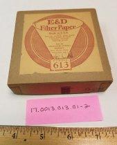 Image of Eaton & Dikeman Filter paper No. 613, 9 cm