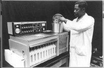 Image of National Cancer Institute - Tissue processing in NCI pathology laboratory