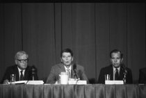 Image of Events at NIH - President Reagan names AIDS commission at NIH