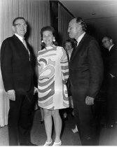 Image of Robert Farrier and Dr. and Mrs. Luther Terry