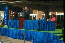 Image of President George H.W. Bush opens Children's Inn