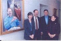 Image of Harold Varmus and Elias Zerhouni with thier wives