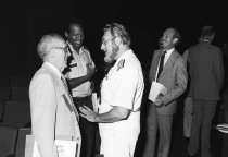 Image of National Institute of Diabetes and Digestive and Kidney Diseases - C. Everett Coop at NIDDK Liver Transplantation conference, 1980s