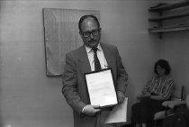 Image of Dedication of Arnold Pratt Conference Room