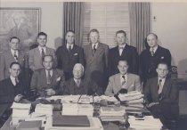 Image of NIH Directors - NIH Director and staff