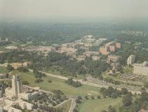 Image of Aerial Views - Aerial photo of the National Institutes of Health campus