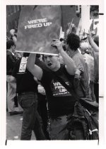 """Image of Events at NIH - AIDS Protest  """"Storm the NIH"""" May 1990"""