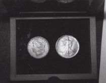 Image of 89.0001.329 - NIH Centennial, 1987: National Institute on Aging Silver Dollar Set