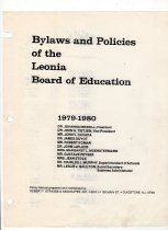 Image of Board of Education Bylaws & Policies