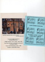 Image of Invitations to history talk,1987 & Chamber Musicians,1993