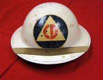 Image of 2006.206.1 - Civil Defense helmet