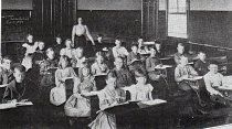 Image of 2006.21.2.27 - Classroom first Leonia Elementary School,1890's